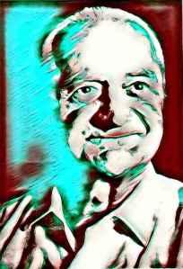 fotografia del Dr. Stone a la edad de 80 años, una vez retirado en la India