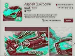Asphalt 8 Airborne, el juego de coches de moda. Te engancha y te convierte en zombie