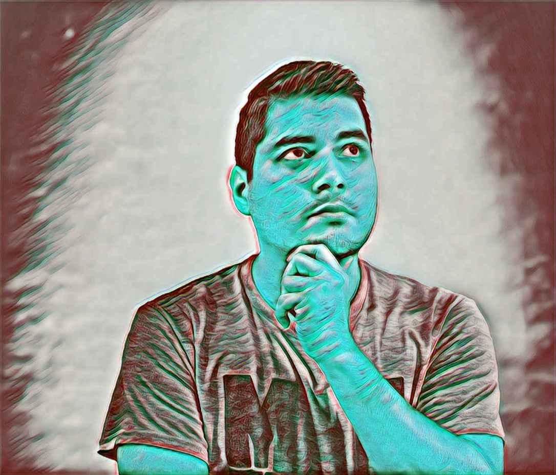Fotografía de persona pensativa que representa las Dudas sobre la Charla Cómo Gestionar las Emociones para que NO nos desborden