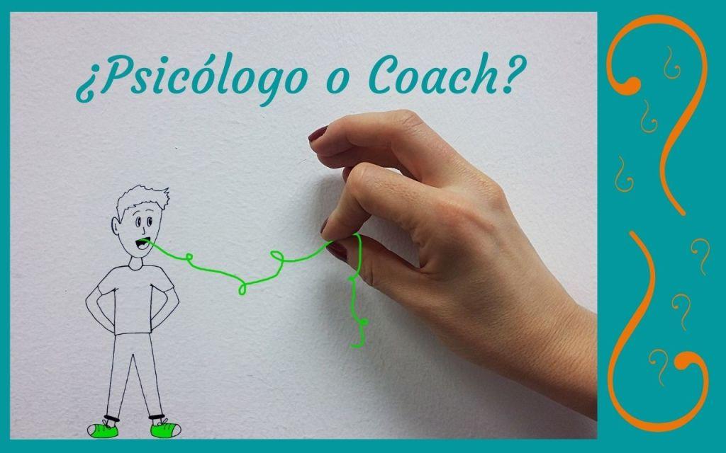 Dibujo de una mano tirando de un hilo, como reflejo del trabajo que realiza un psicólogo con la palabra para ayudar a sus clientes a mejorar la gestión de sus Emociones